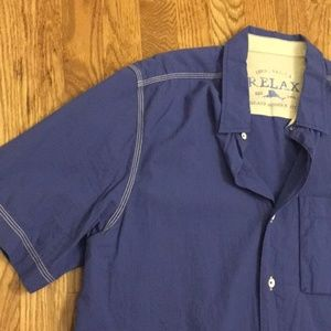 Tommy Bahama short-sleeve button down shirt